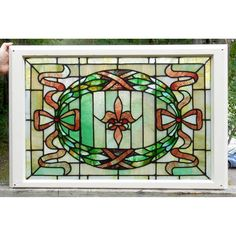 Materials Unlimited - G14068 - Antique Colonial Revival Stained Glass Window, $785.00 (http://www.materialsunlimited.com/g14068-antique-colonial-revival-stained-glass-window/)