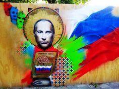 Holy Vladimir Putin by Dutch artist