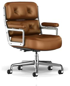 Designed in 1960 for the Rockefeller Center, the Eames Executive Chair is one of the most iconic modern office chair designs.