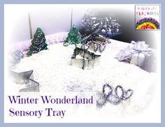 Creative Playhouse: Winter Wonderland Sensory Tray