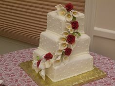 square calla lily wedding cakes 1000 images about wedding cakes on ivory 20357