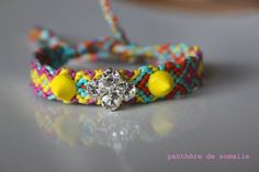 FRIENDSHIP BRACELET Magic Neon by lapanthere on Etsy, €35.00