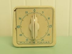 1950s Pressed Steel Maid of Honor Brand Cooking Timer Kitchen Timers, Cooking Timer, Maid Of Honor, Old And New, 1950s, Steel, Maid Of Honour, Bridesmaid, Steel Grades