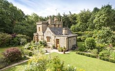 The tiniest castle in the UK is for sale, with 782 square feet and one bedroom. Love it!