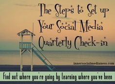 How do you know where you're going if you don't know where you've been? Follow these steps with a FREE printable to walk you through a Social Media Quarterly Check-in to learn what's worked with your marketing plans and to set your goals for the next three months.