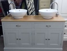 Antique Victorian Painted Pine Washstand, Adaptable Bathroom Sink Unit,  Grey #Victorian #Tables | Www.65vintagehouse.co.uk | Pinterest | Bathroom Sink  Units ...