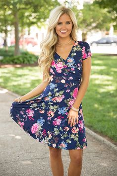 Have Faith In Your Love Dress - The Pink Lily