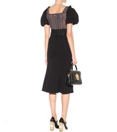 mytheresa.com - Kleid aus einem Wollgemisch - Luxury Fashion for Women / Designer clothing, shoes, bags