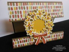Peek-a-Boo-Creative Fold Linda Bauwin – CARD-iologist     Helping you create cards from the heart.  Are you following me on YouTube and my Pinterest Boards?