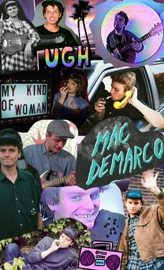 Mac DeMarco collage