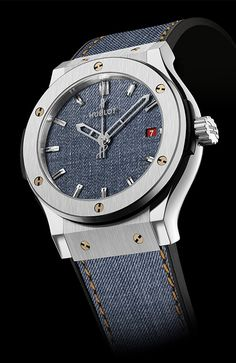 Designed for real adventurers! HUBLOT Classic Fusion Jeans Limited Edition (See more at:http://watchmobile7.com/articles/hublot-classic-fusion-jeans-limited-edition) (1/3) #watches #hublot @Hublot Watches