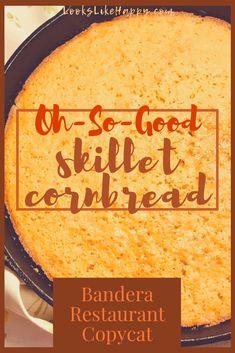 Skillet Cornbread wi