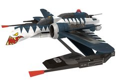 ARC-170 Clone War version Paper Model