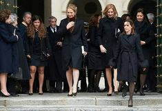 "Spanish royal family, King Felipe, Queen Letizia, former King Juan Carlos, former Queen Sofia, Infanta Elena and Infanta Cristina attended memorial event for 25th anniversary of death of ""Infante Juan of Spain, Count of Barcelona"", held at El Escorial Monastery. Infante Juan of Spain, Count of Barcelona is the father of King Juan Carlos. Infante Juan, Count of Barcelona died of laryngeal cancer in Pamplona, Spain on April 1, 1993. He was buried in the Royal Crypt of the Monastery of San…"