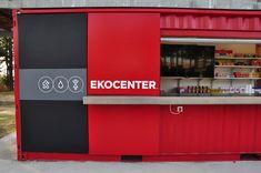 coca-cola EKOCENTER: water purification shipping container - designboom | architecture & design magazine
