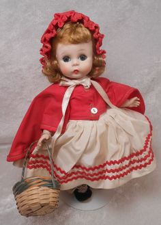 "Vintage Madame Alexander Kins 1955 #471 ""Red Riding Hood"" Gorgeous and Complete"