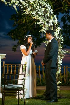 What exactly is a wedding vow? Wedding Vows are technically not just a vow, but a COVENANT. It is a promise, a contract, a profession of commitment between the husband and wife, in the eyes of God.