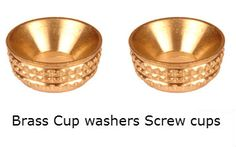 Brass Screw Cups Sockets Brass Turned Screw Cup inserts Cup Washers #BrassScrew  #CupsSockets  #BrassTurnedScrew  #Cupinserts #CupWashers  We make at our factory in Jamnagar india- high quality #BrassScrewcups and #KnurledBrassSockets bar turned machinedCup washers and cups for Brass CSk head Screws for better fixing of wood screws. These screw sockets and Brass knurled cup washers provide good seat for fixings and ensure perfect clamping of wood screws into any surface.