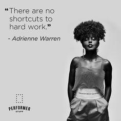 #AdrienneWarren #hardwork #persistence #performerstuff