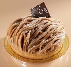 Mont Blanc - Pâtisserie Oberweis (Luxembourg)