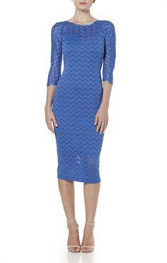 Dresses - OOH LA LA FITTED LACE DRESS