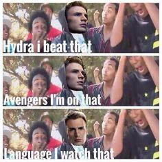 Captain America #SwagMoney