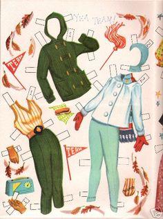 Paper doll Natalie Wood 2