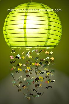 Butterfly Lamp / Fly Away With Me Mobile