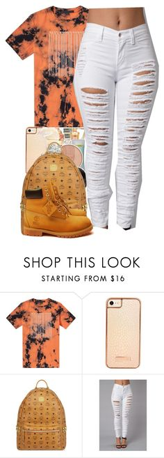 """By chance you're laying next to someone else right now~Chris Brown"" by her-niya on Polyvore featuring Alexander Wang, Skinnydip, MCM and Timberland"