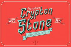 crypton stone type from FontBundles.net
