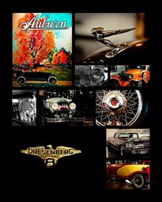 Something for car enthusiasts - - the tenaCitys© print of images I took at the Auburn Cord Duesenberg Museum in Auburn, Indiana. For sale via my site or Ebay!