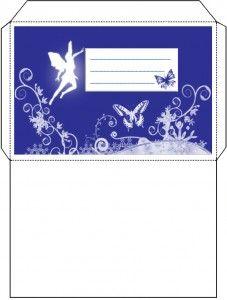 free printable Fairy Envelope