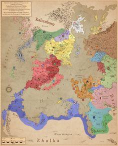 Fantasy Words, Fantasy Rpg, Medieval Fantasy, Fantasy Artwork, Fantasy Map Making, Fantasy World Map, League Of Legends Comic, Imaginary Maps, Alternate History