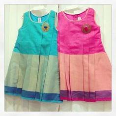 Bctj Indian Dresses For Girls, Little Girl Dresses, Baby Dress Design, Frock Design, Frocks For Girls, Kids Frocks, Kids Blouse Designs, Kids Party Wear, Kids Ethnic Wear