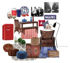 Modern Country Style I by decopixbytiina on Polyvore featuring interior, interiors, interior design, home, home decor, interior decorating, Home Decorators Collection, Madison Park, Serena & Lily and DutchCrafters