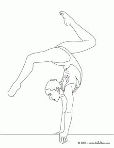 GYMNASTICS Coloring Book For Adults With Color GYMNASTICS  sketch coloring book Creativity and Mindfulness 80 Pictures
