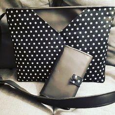 Clotilde Belin sur Instagram: Quoi de mieux pour dompter sa nouvelle MAC que mes patrons chouchous @patrons_sacotin. Un joli sac Mambo en taille large et un…