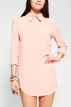 Sister Jane Swan Collar Tunic #urbanoutfitters
