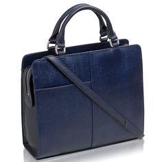 Buy Radley Clerkenwell Medium Multiway Leather Bag, Navy Online at johnlewis.com