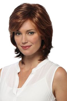 Browse our Short Wigs for women. Short wigs above the shoulder to bobs and boys cuts in straight, wavy to curly styles. Hair Styles For Women Over 50, Medium Hair Styles, Curly Hair Styles, Pixie Styles, Short Wigs, Short Pixie, Pixie Haircut, Layered Hair, Synthetic Wigs