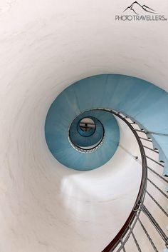 Treppenhaus im Lyngvig Fyr
