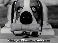 Gaylord the dog. He walks,he wags he even picks up his bone. Find more on IDEAL at http://www.vintagetvcommercials.com