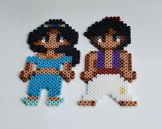 Aimants de Perler Bead Disney - Aladdin
