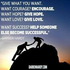 Give what you want #life # business