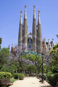 The Sagrada Familia, Barcelona, SPAIN