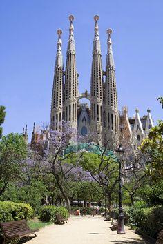 The Sagrada Familia, Barcelona, SPAIN