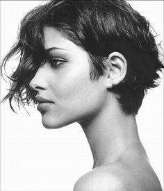 Ana Beatriz Barros short hair