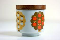 Vintage Apple Tree Sugar bowl.