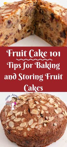 Baking a fruit cake is a little different than regular cakes. In this Fruit cake 101 you will find tips for baking the perfect fruit cake and tips for storing your fruit cake weather you make yours with alcohol or fruit juice. Best Fruit Juice, Fruit Juice Recipes, Dark Fruit Cake Recipe, Cake Recipes, Dessert Recipes, Rock Recipes, Storing Fruit, Semolina Cake, Exotic Food