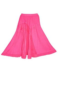 Womens Skirt Pink Embroidered Stonewashed Rayon Sexy Maxi... https://www.amazon.com/dp/B01M01P199/ref=cm_sw_r_pi_dp_x_xKwpyb2C4WR3Z #skirt #bohemian #boho #maxiskirt